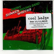 (EN770) Owiny Sigoma Band, Sunken Wrecks - 2013 DJ CD