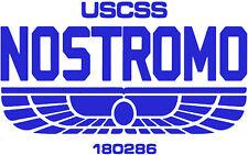 Alien USCSS Nostromo Vinyl Decal Sticker Car Van Laptop Tablet Wall