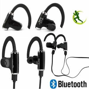 Wireless Bluetooth Stereo Earphones Separable Ear-Hook In Ear Sport Headphones