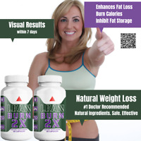 Thermogenic Fat Burner Natural Weight Loss Green Tea, EGCG, Focus Energy x2