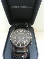 NEW EMPORIO ARMANI BLACK Mens Watch AR2453 - RRP £399.00