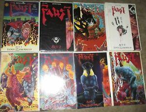 Faust U-PICK ONE #1,2,3,5,6,8,9 or 10 Northstar 1989-93 Mature PRICED PER COMIC