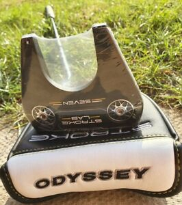 "Odyssey Stroke Lab No. 7 34"" Putter Brand New Black"