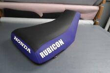 Honda Rubicon 500 2001-04 Logo Blue Sides Seat Cover #nw1775mik1774