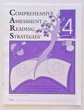 NEW Comprehensive Assessment of Reading Strategies & Comprehension 4th Grade 4