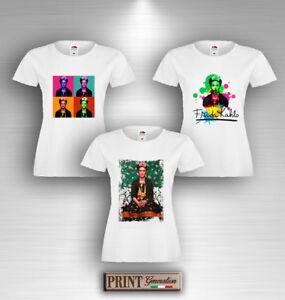 T-Shirt Artista Pittrice Arte Maglietta Idea Regalo Uomo Donna