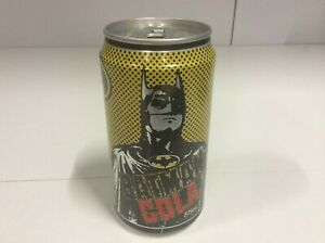 Rare 1989 Batman Cola Aluminium Can