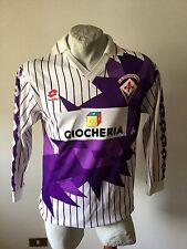 Maglia calcio lotto fiorentina dunga matchworn football shirt 1991-1992 vintage