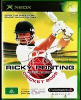Xbox Ricky Ponting International Cricket 2005 Inc Manual