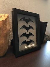 Batman Emergency Batarangs Wallmount Prop Relica Display - Metal Robin Batarang
