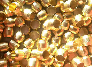 Compression Fitting Ferrules/Olives: brass PRICING PER PACK OF 10
