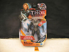 "Thor FIRE BLAST MARVEL'S DESTROYER 4.5"" Action Figure Marvel Studios NEW 2011"