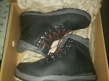 Kamik Mens Size 9 Black Insulated Waterproof Winter Ankle Boots