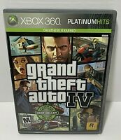 Grand Theft Auto IV   Platinum Hits Edition  Microsoft Xbox 360  2009