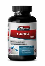 Tribulus - L-Dopa 99% Extract 350mg - Boost Sex Libido - Metabolism, Brain 1Bott
