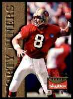1995 SKYBOX PREMIUM STEVE YOUNG SAN FRANCISCO 49ERS #123