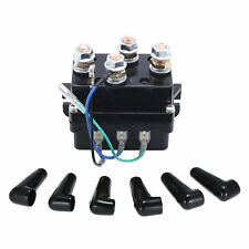 HEAVY DUTY WINCH SOLENOID RELAY EQUIV 500A AMP RECOVERY 17000LB HOT P9R7