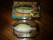 Big Mouth Billy Bass The Singing Sensation 1998 Gemmy Ind =