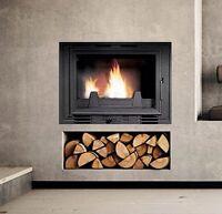 Inset Stove Multifuel Fire Wood Log Burner Plasma/Cassette Style New Guaranteed