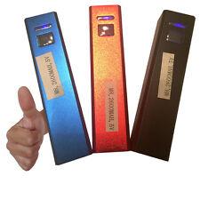 PowerBank 2600mAh klein handlich Akku Akkupack USB battery Ladegerät Zusatzakku