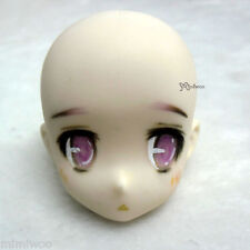 Obitsu 23cm 21cm Female Faceup White Skin Head 01 Repainted B (HAND MAKEUP)