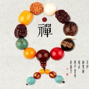 Bodhi Car Gear Buddha Beads Pendant Decorations Car Bead Amulet Increase Wealth