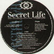 SECRET LIFE - I Want Vyou (Morales De Dave Rmx) - 1994 Pulse-8