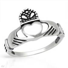Lovely Claddagh New Ring Made in 925 Sterling silver- Size 7