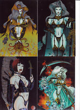 LADY DEATH MEGACARDS PREVIEW FACTORY 1997 TRADING CARD SET