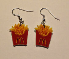 French Fries Earrings Charms McDonald's