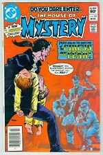 The House of Mystery #302 March 1982 VG+ Kaluta Circus of Fear Cover