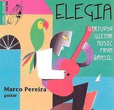 Elegia Virtuoso Guiatar Music from Brazil by Marco Pereira (CD, May-1995,...