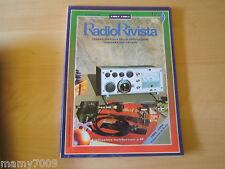 RADIO RIVISTA=N°12 1995=DEDICATA INTERAMENTE AI RADIOAMATORI=ORGANO UFF.ARI