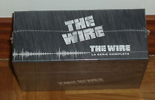 THE WIRE-COLECCIÓN COMPLETA-1-5 TEMPORADAS-23 DVD-NUEVO-NEW-PRECINTADO-SEALED