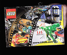2001 Lego Catalog- 36 pages- Bionicle, Star Wars, Harry Potter