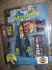 Jim Hensons Muppets Johnny Fiama Pin Stripe Variant 7th