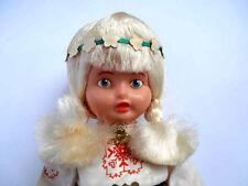 1970s USSR Soviet Estonian National Costume Plastic DOLL