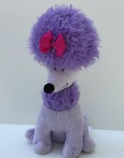 Cleo Purple Poodle Plush Friend of Clifford Big Red Dog Stuffed Kohls Cares Toy