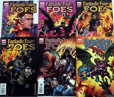 FANTASTIC FOUR FOES 1,2,3,4,5,6 (1-6)...NM-...2005...Robert Kirkman...Bargain!