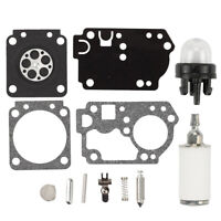 H43 H45 CARB KIT FOR HOMELITE 33cc 38cc H44 45cc SAWS FOR ZAMA H42