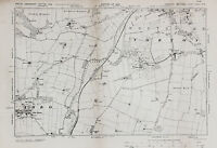 East Yorkshire Map - Ordnance Survey Emergency Edition 1938 - Norton