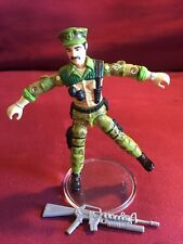 1986 Leatherneck  vintage Hasbro GI Joe figure Missing Backpack SHARP!!!