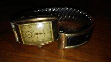 Vintage Art Deco Men's Bulova 10AE,15j watch 10k Gold Filled Case (Not Running)