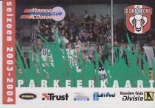 Sammler Used Ticket / Entrada Parkingticket FC Dordrecht season 2003-2004