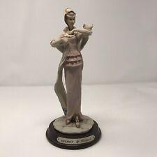 Vintage Leonardo Lady Figurine 'Elegance' By Lesser & Pavy Ltd