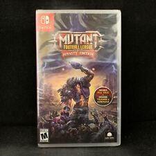 Mutant Football League Dynasty Edition (Nintendo Switch) BRAND NEW / Region Free