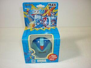 Rockman X Mini LCD Helmet Keychain Game by Flex - Mega Man - Very Rare - Capcom