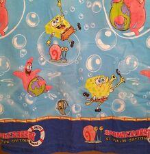 Spongebob Squarepants Twin Flat Sheet Craft Fabric Spongebob Patrick Gary