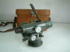 Hilger & Watts SL10 -1 Surveyors Working Theodolite in Case with Shoulder Case