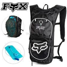 2L FOX Hydration Water Backpack Bag Pack Rucksack Camping Hiking Cycling Bladder